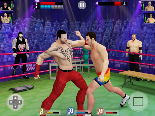 Tag Team Wrestling Games: Mega Cage Ring Fighting modavailable screenshots 14