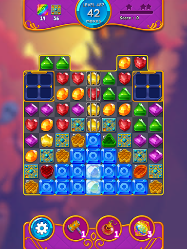 Jewel Witch - Best Funny Three Match Puzzle Game 1.8.2 screenshots 11