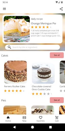 Cake and Baking Recipes  screenshots 1
