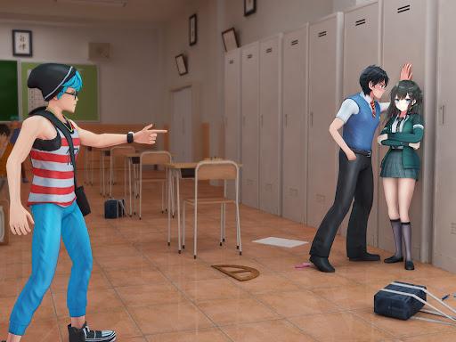 High School Bully Gang: Karate Fighting Game  screenshots 10