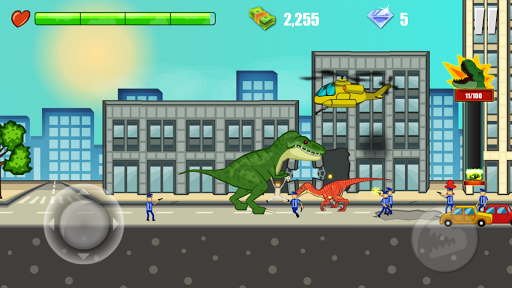 Jurassic Dinosaur: City rampage 2.5 screenshots 7