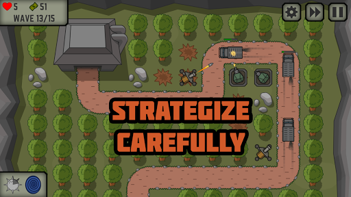 Tactical War: Tower Defense Game  Screenshots 1