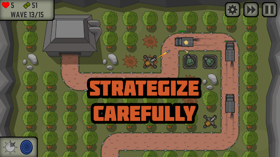 Tactical War: Tower Defense Game Screenshot