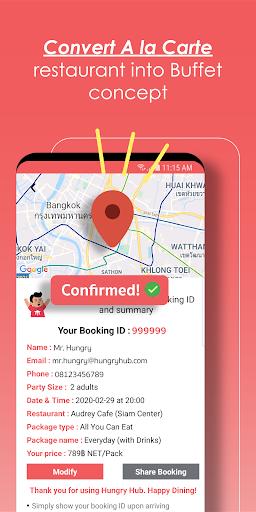 Hungry Hub - Thailand Dining Offer App 5.3.6 screenshots 4