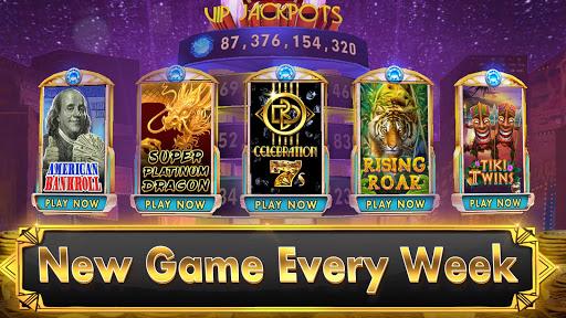 SLOTS - Black Diamond Casino apkslow screenshots 5