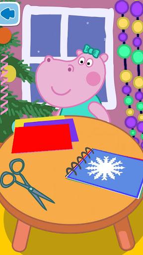 Kids handcraft: Snowflakes  screenshots 2