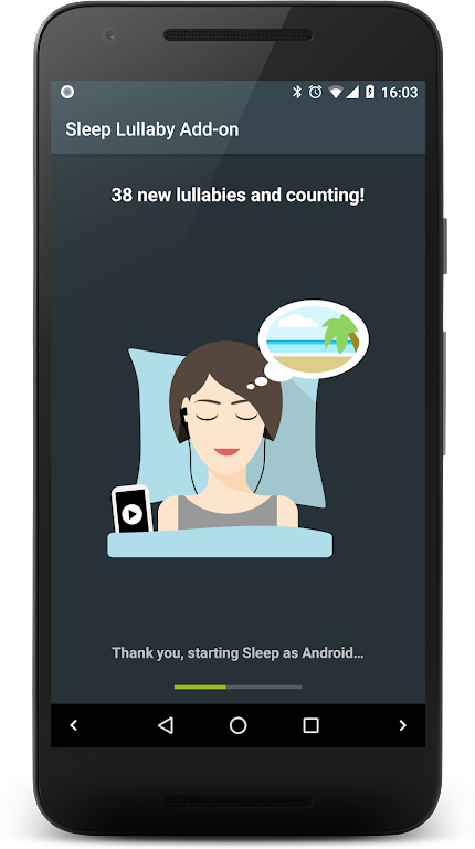 Lullaby Add-on 🎵 for Sleep as Android + Mindroid  poster 0