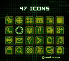 攻殻機動隊アイコン-壁紙がセットになったお得なアプリ!のおすすめ画像2
