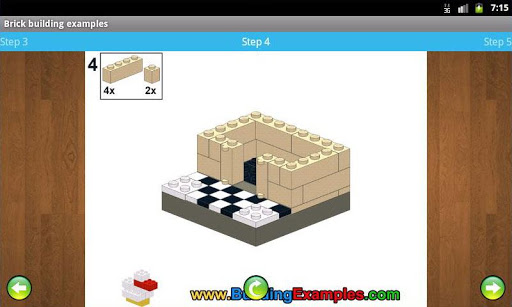 Brick building examples apkmr screenshots 5