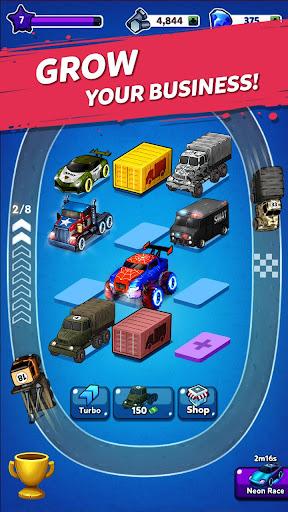 Merge Truck: Monster Truck Evolution Merger game Apkfinish screenshots 5