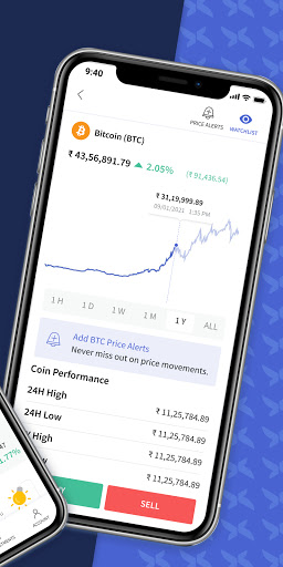 CoinDCX Go: Bitcoin, cryptocurrency investment app screenshots 2