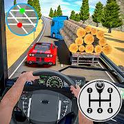 Log Transporter Truck Driving : Truck Games 2021