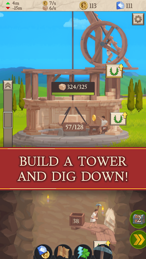 Idle Tower Miner - Mine and Build modiapk screenshots 1