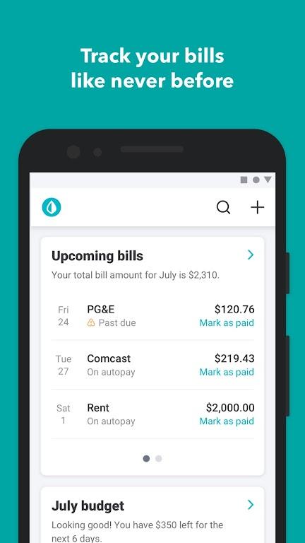 Mint: Budget, Bills, & Finance Tracker  poster 5