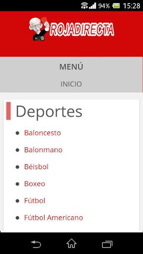Roja Directa Futbol  Screenshots 3
