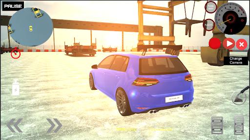 Golf GT Drift Simulator  screenshots 2