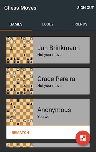 Chess Moves u265f Free chess game 2.9.1 screenshots 2