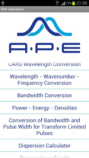 APE Optics Calculator For PC Windows (7, 8, 10, 10X) & Mac Computer Image Number- 5