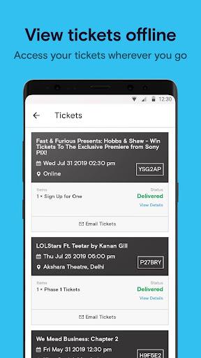 Paytm Insider: Movie Tickets, Events & Gameshows 4.5.5 Screenshots 6