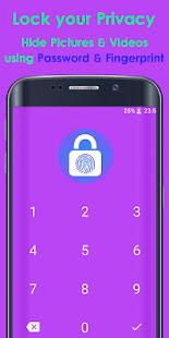 Photo Video Lock App