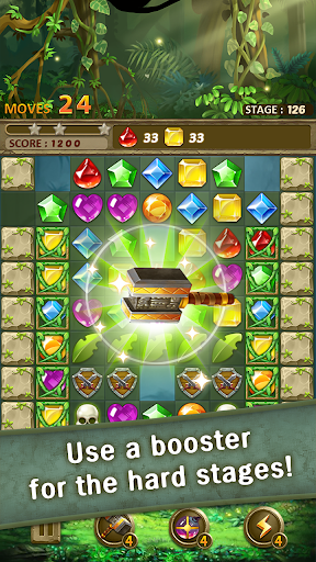 Jewels Jungle : Match 3 Puzzle apktram screenshots 15