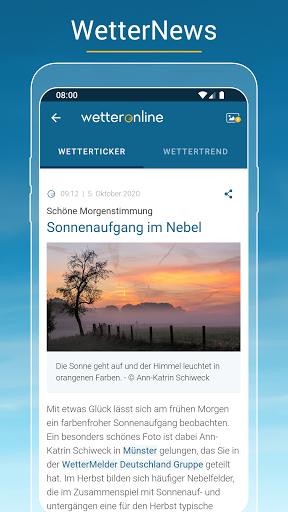 RegenRadar - Vorhersagen & live Wetterradar  screenshots 7