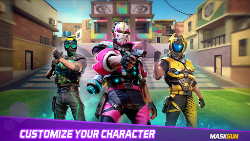 MaskGun Multiplayer FPS - Shooting Gun Games  screenshots 2