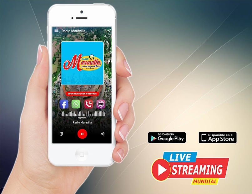 Radio Maravilla 102.5 FM - La mas Alegre Yungay screenshot 2