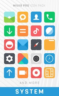 MIUI Icon Pack PRO Screenshot