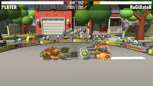 Tank Crash : combats de robots APK MOD (Astuce) screenshots 3