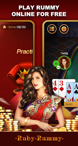 Ruby Rummy-Indian Online Free Card Game 1.0.5 Screenshots 3