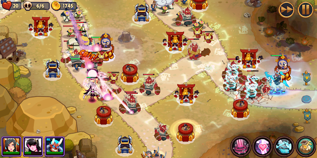 Realm Defense: Epic Tower Defense Strategy Game Mod Apk