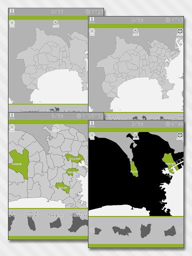 Enjoy Learning Kanagawa Map Puzzle 3.2.3 screenshots 2