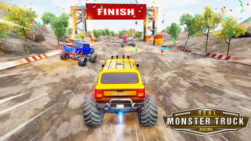 Monster Truck Car Racing Game apktram screenshots 15