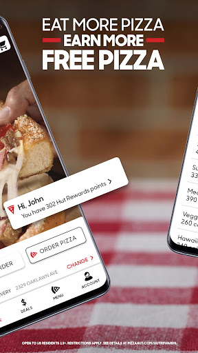Pizza Hut - Food Delivery & Takeout 5.15.0 Screenshots 2