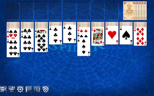 spider solitaire screenshot 2