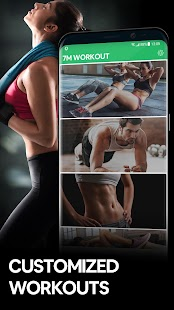 7 Minute Workout App - Lose Weight in 30 Days! Screenshot