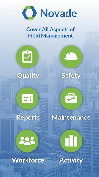 Novade – Construction and Maintenance Software