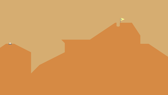 Desert Golfing Screenshot