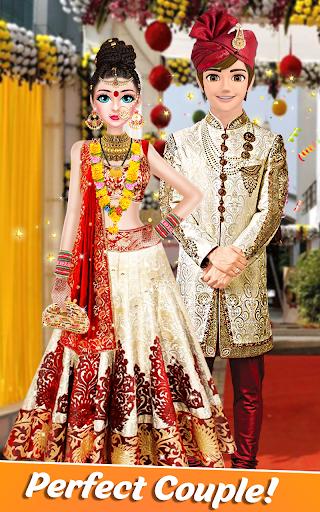 Indian Bride Stylist Dressup & Beauty Makeup Game screenshots 1