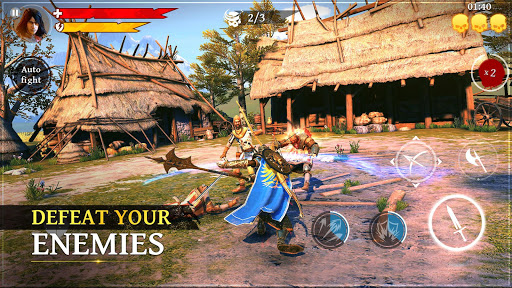 Iron Blade: Medieval Legends RPG 2.3.0h screenshots 1
