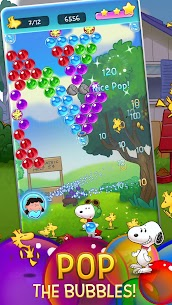 Bubble Shooter: Snoopy POP! – Bubble Pop Mod Apk (Unlimited Money) 7