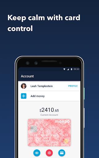 Monzo - Mobile Banking modavailable screenshots 7