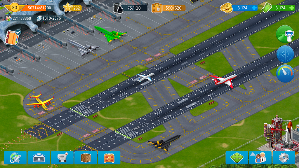 Airport City - transport manager  poster 3