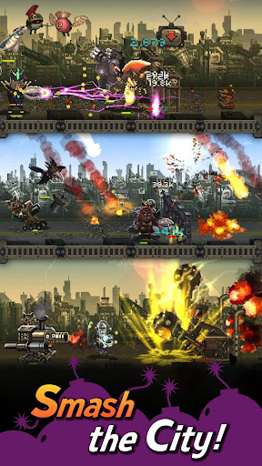 World Beast War: Merge Rampage Monsters  screenshots 16