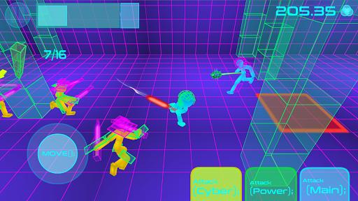 Stickman Neon Warriors: Sword Fighting screenshots 5