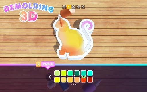 Demolding 3D screenshots 22