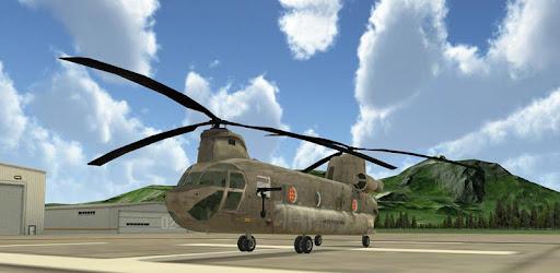 Screenshot of Chinook Helicopter Flight Sim