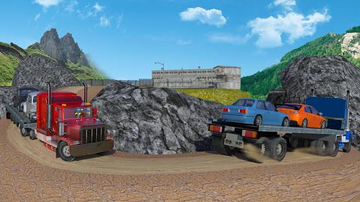 stickman offroad transporter truck cargo screenshot 2