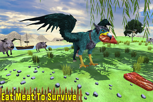 Wild Griffin Family Flying Eagle Simulator  screenshots 5